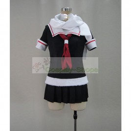 Kantai Collection KanColle Yuudachi Cosplay Costume