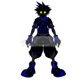 Kingdom Hearts II 2 Anti-Form Sora Cosplay Costume
