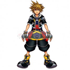 Kingdom Hearts II 2 Standard Form Sora Cosplay Costume