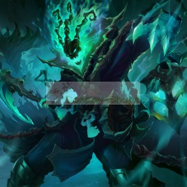 League of Legends LOL Thresh the Chain Warden Full Armour Cosplay