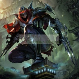 League of Legends LOL Zed Full Armour Cosplay