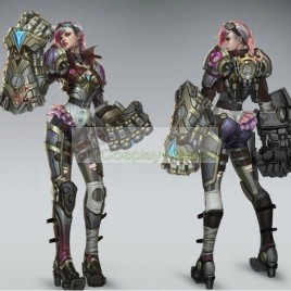 League of Legends LOL Vi the Piltover Enforcer Giant Hand Cosplay