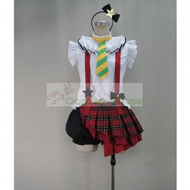 Love Live! School Idol Project Rin Hoshizora Performance Cosplay Costume