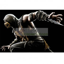 Mortal Kombat X Scorpion Full Set Cosplay Costume