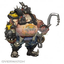 Overwatch ROADHOG Full Cosplay