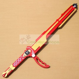 Power Rangers Ninja Storm RED WIND Sword Cosplay Prop