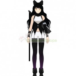 RWBY Black Blake Belladonna Volume 1 Cosplay Costume