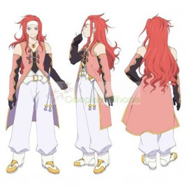 Tales of Symphonia Zelos Wilder Full Outfit Cosplay Costume