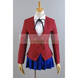 Toradora Girl School Uniform Taiga Aisaka Cosplay Costume