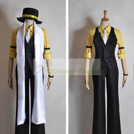 Vocaloid Trickery Casino Kagamine Len Cosplay Costume
