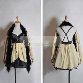 Vocaloid Trickery Casino Kagamine Rin Cosplay Costume