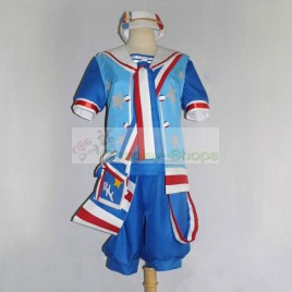 Vocaloid Kagamine Mirrors Len Sailor Suit Cosplay Costume
