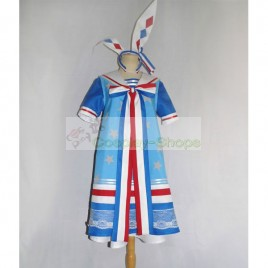 Vocaloid Kagamine Mirrors Rin Sailor Suit Cosplay Costume