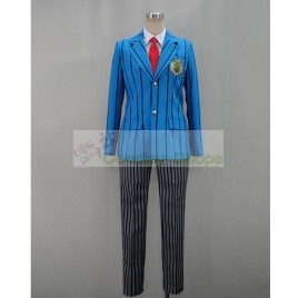 Yowamushi Pedal Hakogaku School Boy Uniform Cosplay Costume