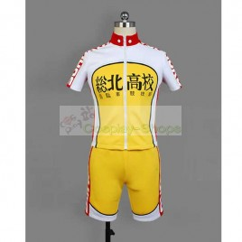 Yowamushi Pedal Sohoku / Souhoku members Onoda Sakamichi Bicycle Race Suit Cosplay Costume