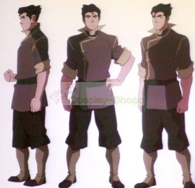 Avatar The Legend of Korra Bolin Cosplay Costume