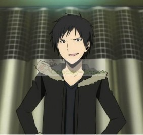DuRaRaRa!! Izaya Orihara Short Flip Out Black Cosplay Wig