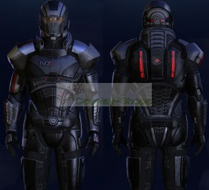Mass Effect 3 N7 Full Armour Male Version Cosplay