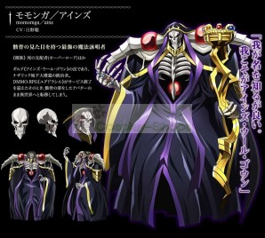 Ainz Ooal Gown from overlord Cosplay armor with Momonga Staff
