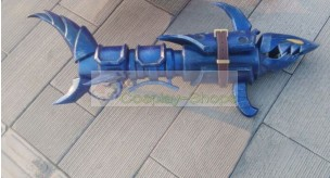League of Legends LOL Jinx Fishbone Rocket Launcher Cosplay Prop