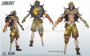 Overwatch Junkrat Full Cosplay