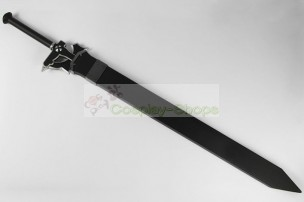 Sword Art Online SAO Kazuto Kirigaya (Kirito) Black Elucidator Sword Cosplay Prop