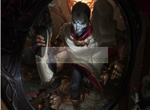 League of Legends LOL Jhin Classic Full Cosplay Costume