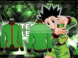 Hunter X Hunter Gon Freecss Green Cosplay Costume