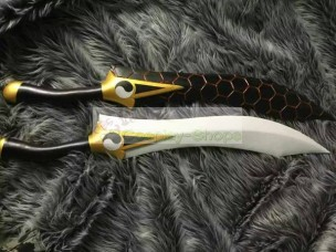 Fate/Stay Night Archer Couple Swords Cosplay Prop