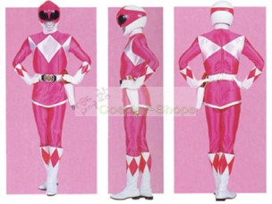 Power Rangers Mighty Morphin Pink Ranger Mei Ptera Ranger Cosplay Costume