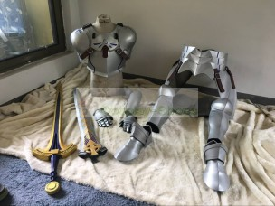 Fate Prototype Saber King Arthur Pendragon from Fate/Grand Order FGO Cosplay Armour from