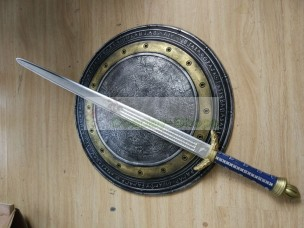 Batman v Superman Dawn of Justice Wonder Woman Sword and Shield Cosplay Weapon