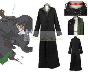 Darker Than Black Hei Jacket Cosplay Costume