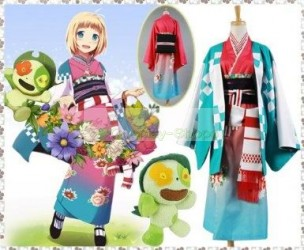 Blue Exorcist / Ao no Exorcist Shiemi Moriyama Cosplay Costume
