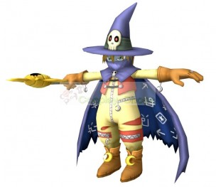 Digimon Wizardmon Full Cosplay Costume