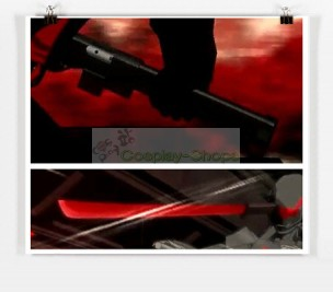 RWBY Adam Taurus Wilt & Blush Riflejato Cosplay Sword