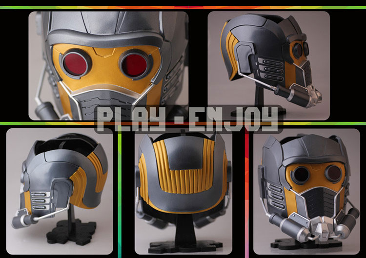 Guardians of the Galaxy Star Lord / Peter Quill FRP Version Cosplay Helmet